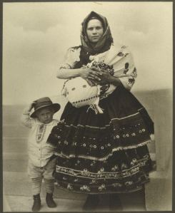 Slovak-woman-and-child