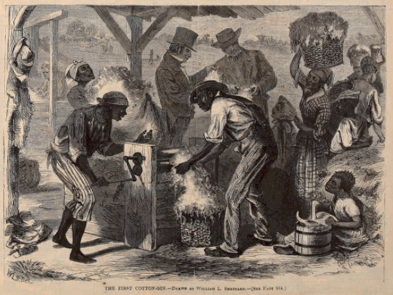 How The Cotton Gin Advanced Slavery The Historic Present